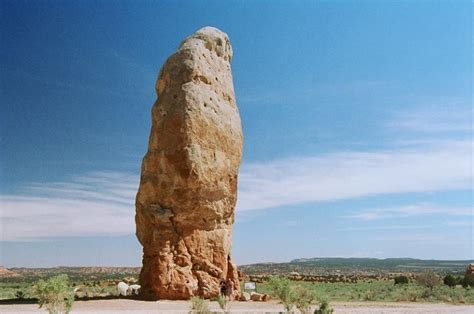 Chimney Rock in Kodachrome Basin, UT