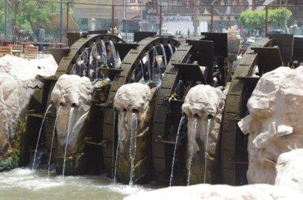 Faiyum Waterwheels, Egypt