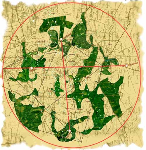 Glastonbury Landscape Zodiac