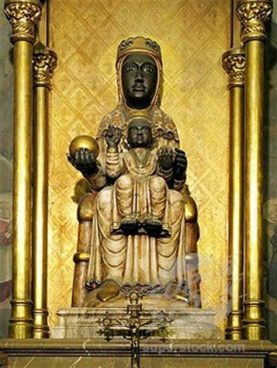 Monserrat Black Madonna