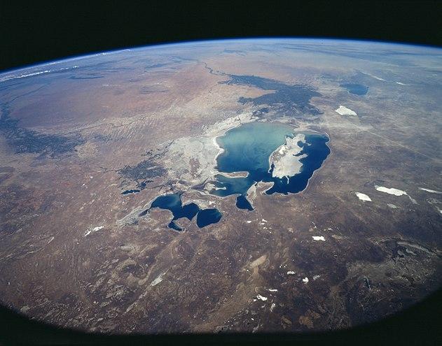 Aral Sea 1997