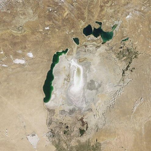 Aral Sea 2009