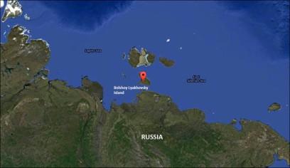 lyakhovsky islands