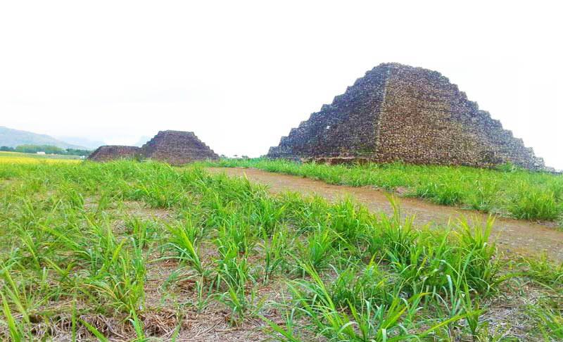 Mauritius Pyramids