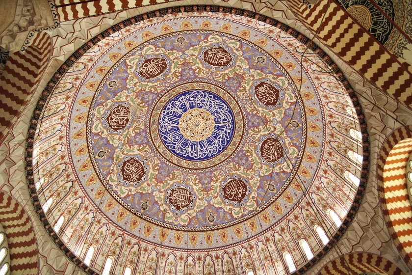 sacred_geometry_selimiye_mosque_dome