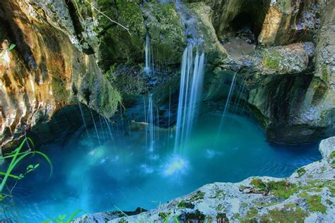 Slovenia Waterfall 5