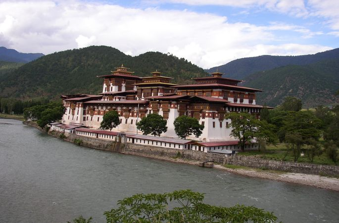 Brahmaputra in Bhutan