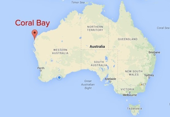 Coral Bay Map