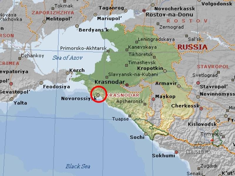 Krasnodar Krai Map