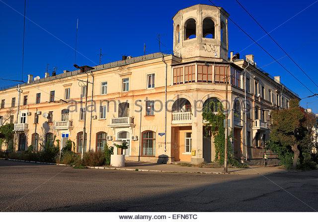 Sevastopol 8 street corner