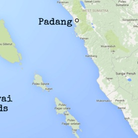 Siberut Mentawai Islands map