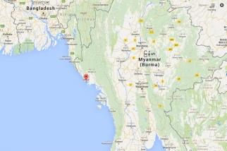 Sittwe, Myanmar Map
