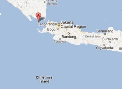 Sunda Strait - Christmas Island