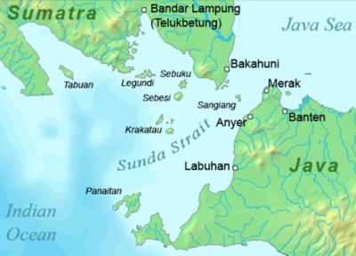 Sunda Strait Map