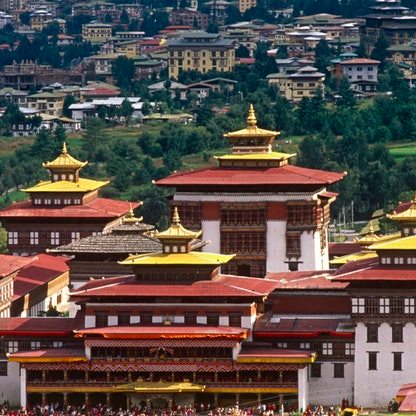 Thimphu 1 - Trashi Chho Dzong Buddhist Monastery