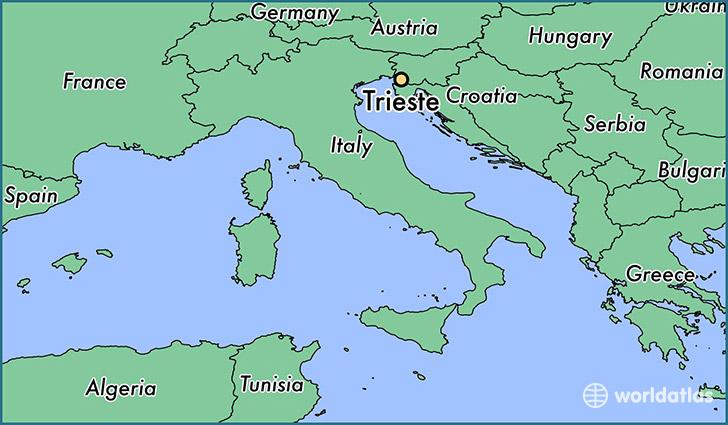 Trieste Map