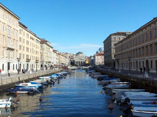Trieste, Slovenia - canal