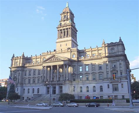Detroit - Old Wayne County Courthouse