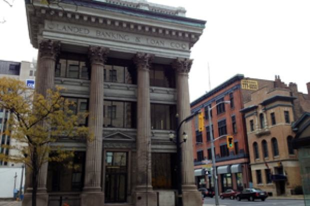 Hamilton, Ontario - historic bank