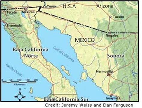 Hermosillo, Mexico map
