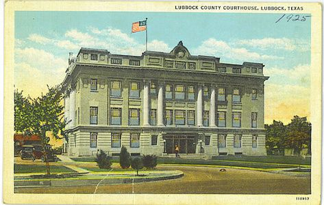 Lubbock, Texas - County Courthouse