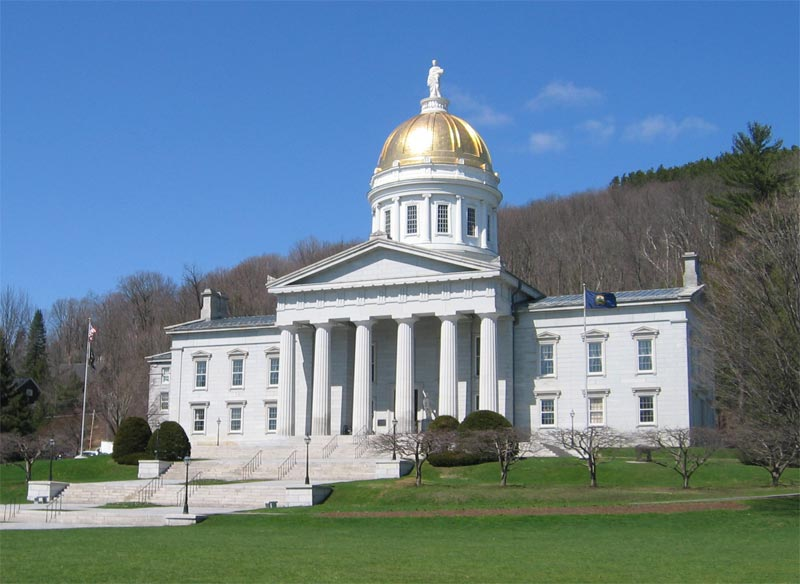 Montpelier, Vermont - State Capital Building
