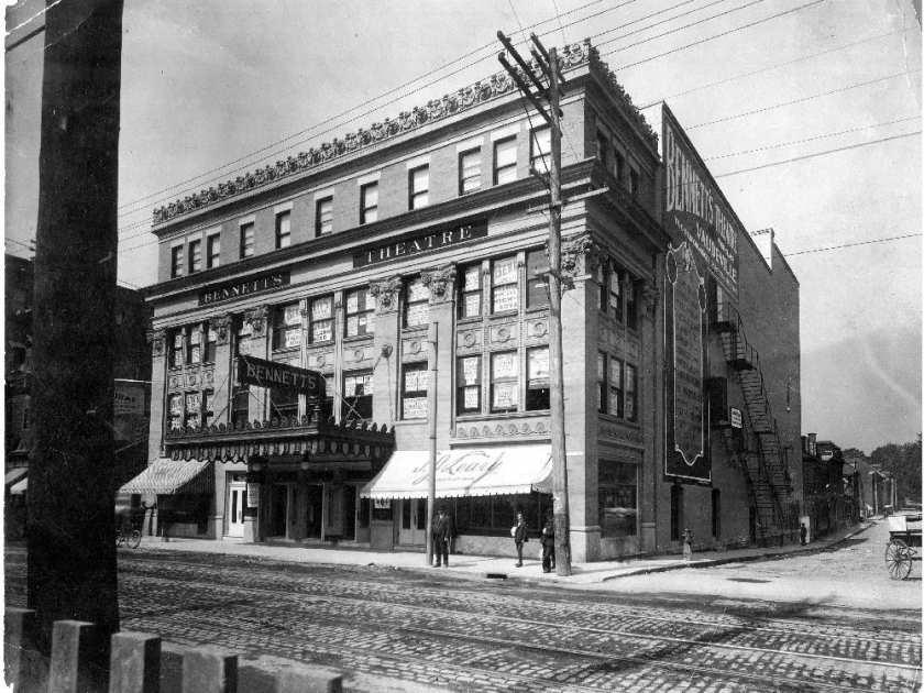 Montreal - historic theater