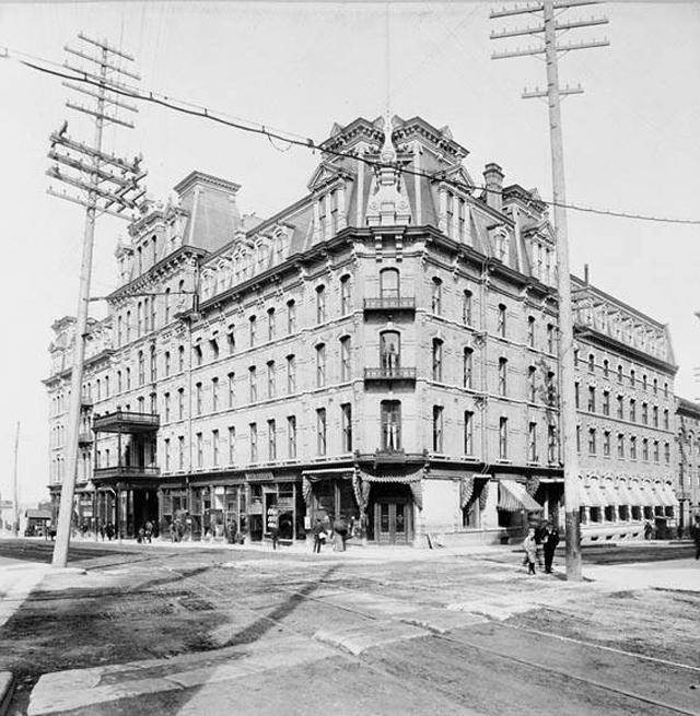 Ottawa - historic Ottawa 1800s