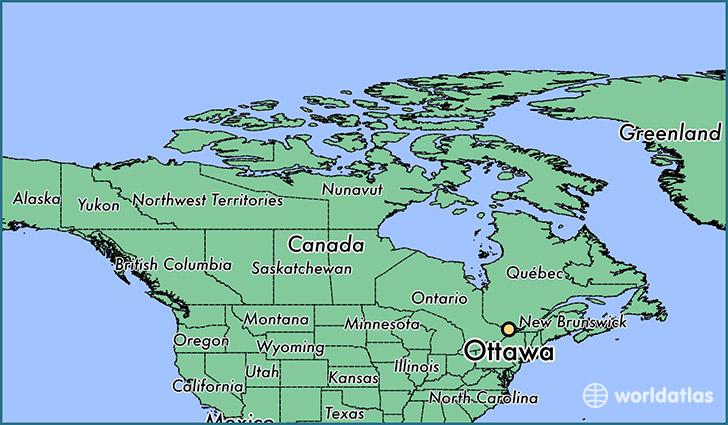 Ottawa, Ontario Map