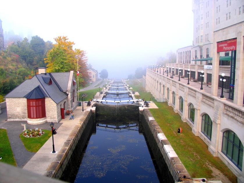 Ottawa - Rideau Canal - UNESCO World Heritage