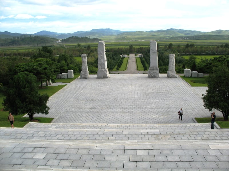 Pyongyang - Historical remains 4