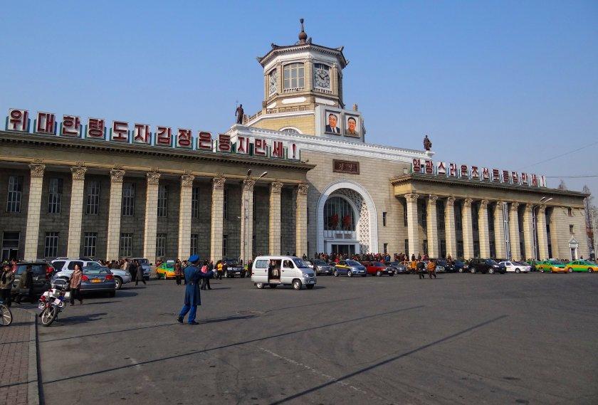 Pyongyang - railway station 2014