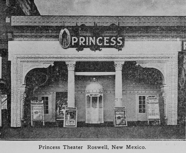 Roswell, NM - Princess Theater