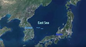 Sea of Japan Map