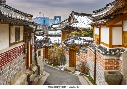Seoul, South Korea - Historic 2