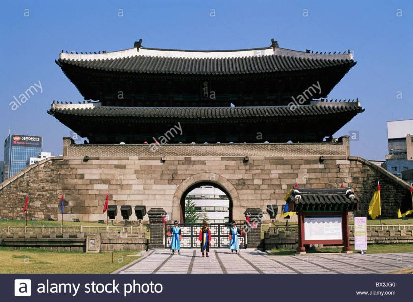 Seoul, South Korea - Sungnyemun Namdaemun South Gate