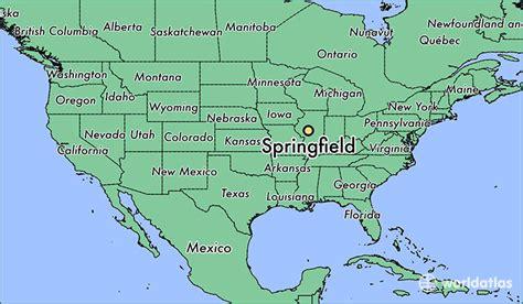 Springfield, Illinois Map