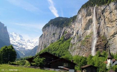 Staubach Falls, Switzerland