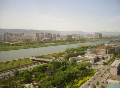Taiyuan, China - Fen River