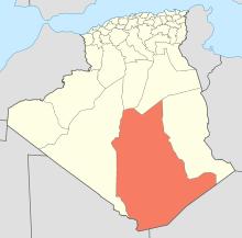 Tamanrasset Map