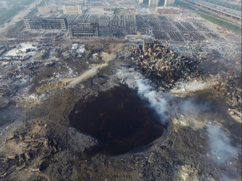 Tianjin Explosion - Crater.jpg
