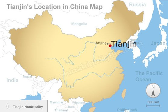 Tianjin Map
