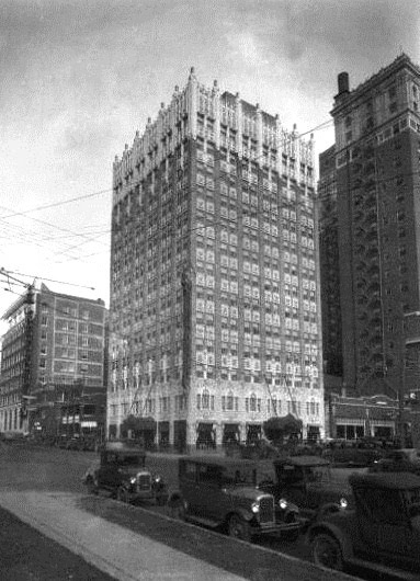 Tulsa - Exchange Bank Mincks-Adams Exterior 1930