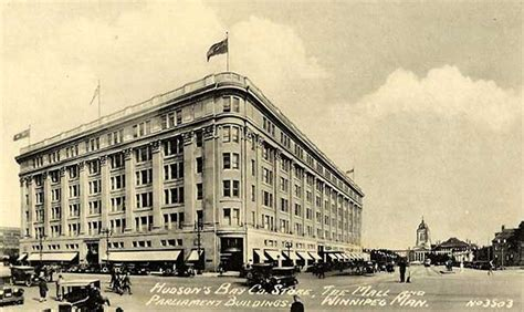 Winnipeg - Hudson's Bay Company Building