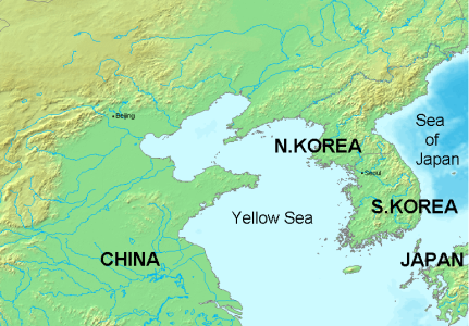 Yellow_Sea Map