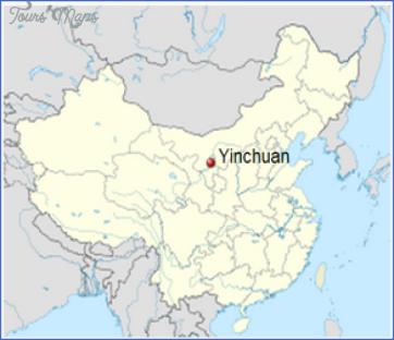 Yinchuan Map
