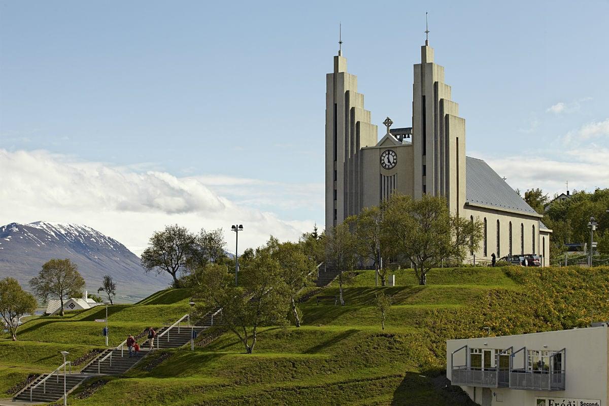 Akureyri - Church of Akureyri