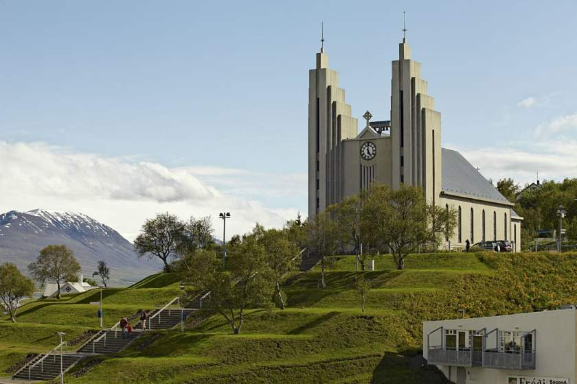 Akureyri - Church of Akureyri