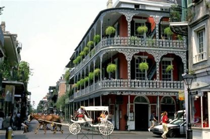 Cape Town - Historic Architecture New Orleans French Quarter