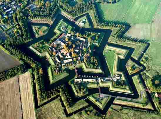 Fort Bourtange, Netherlands